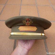 Militaria: GORRA DE PLATO SARGENTO DEL EJÉRCITO ESPAÑOL. REY JUAN CARLOS I TALLA 59. Lote 241690270