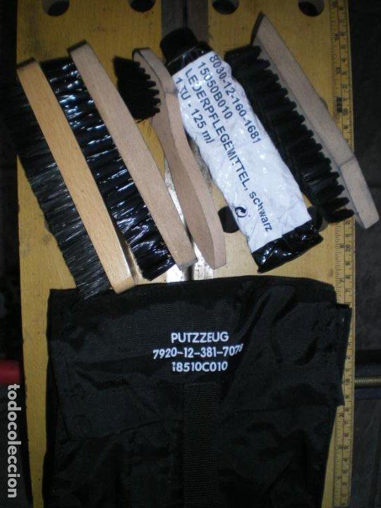 Militaria: ESTUCHE LIMPIEZA CALZADO BOTAS ALEMAN - Foto 2 - 242015390