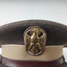 Militaria: GORRA POLICÍA NACIONAL. MARRONES. Lote 243528755