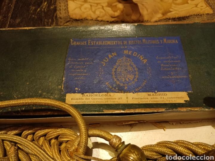Militaria: Cordones de ayudante casa medina - Foto 2 - 244167250