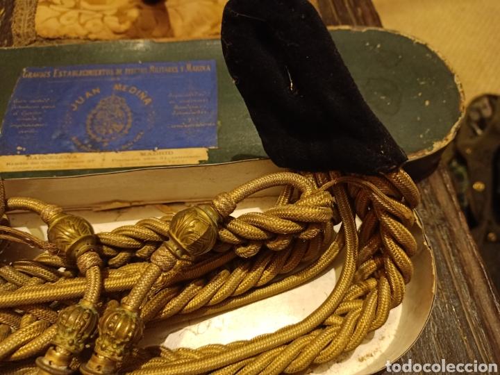 Militaria: Cordones de ayudante casa medina - Foto 4 - 244167250