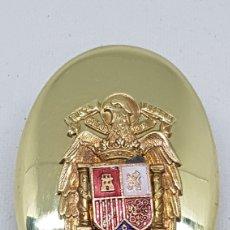 Militaria: CHAPA HEBILLA CINTURON DE PECHO AGUILA IMPERIAL GUARDIA CIVIL POLICIA ARMADA ESCUDO ESMALTADO. Lote 244426435