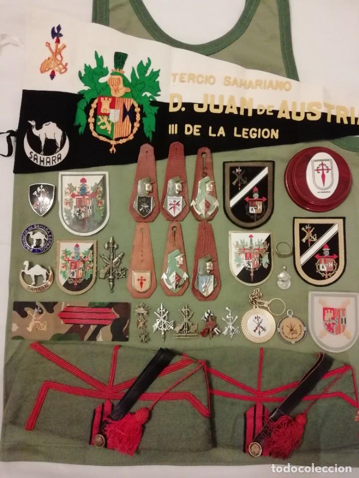 LEGIÓN : LOTE LEGIONARIO. GRAN OPORTUNIDAD!!! (Militar - Boinas y Gorras )