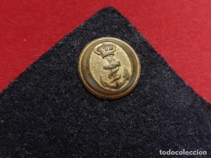 Militaria: Armada Española. Marina Guerra. Hombreras. Suboficiales. Subteniente. Contramaestre. Época Juan Carl - Foto 3 - 245446950