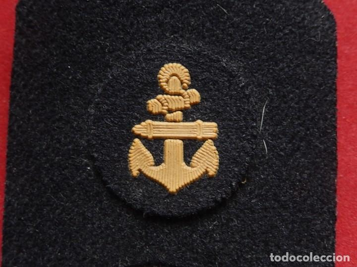 Militaria: Armada Española. Marina Guerra. Hombreras. Suboficiales Superiores. Subteniente. Torpedista. Época J - Foto 12 - 245449160