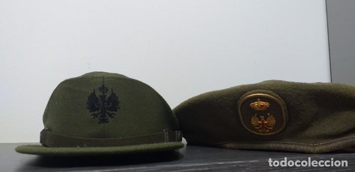 Militaria: UNIFORME - MILITAR- VINTAGE- EJERCITO ESPAÑOL- GORRA Y BOINA - Foto 6 - 224549052