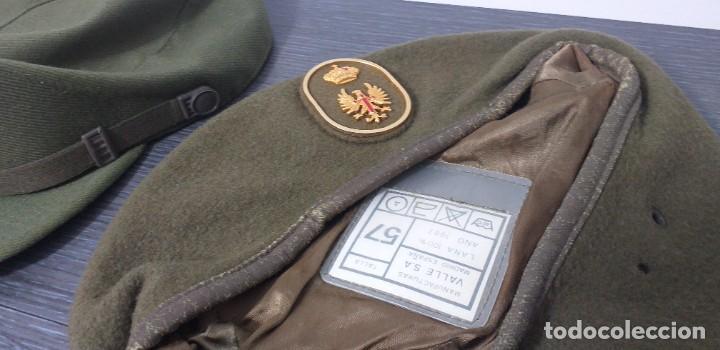 Militaria: UNIFORME - MILITAR- VINTAGE- EJERCITO ESPAÑOL- GORRA Y BOINA - Foto 9 - 224549052