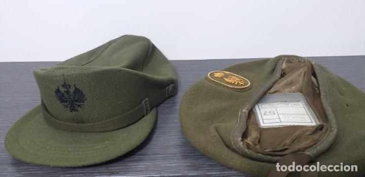 Militaria: UNIFORME - MILITAR- VINTAGE- EJERCITO ESPAÑOL- GORRA Y BOINA - Foto 10 - 224549052