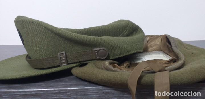 Militaria: UNIFORME - MILITAR- VINTAGE- EJERCITO ESPAÑOL- GORRA Y BOINA - Foto 12 - 224549052