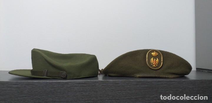 Militaria: UNIFORME - MILITAR- VINTAGE- EJERCITO ESPAÑOL- GORRA Y BOINA - Foto 17 - 224549052