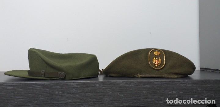 Militaria: UNIFORME - MILITAR- VINTAGE- EJERCITO ESPAÑOL- GORRA Y BOINA - Foto 18 - 224549052