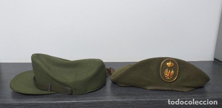 Militaria: UNIFORME - MILITAR- VINTAGE- EJERCITO ESPAÑOL- GORRA Y BOINA - Foto 19 - 224549052