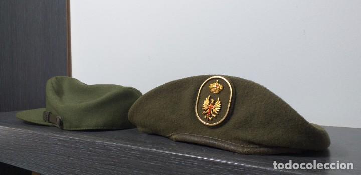 Militaria: UNIFORME - MILITAR- VINTAGE- EJERCITO ESPAÑOL- GORRA Y BOINA - Foto 21 - 224549052