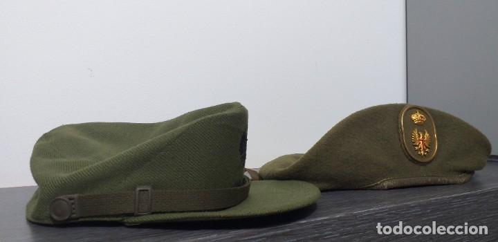 Militaria: UNIFORME - MILITAR- VINTAGE- EJERCITO ESPAÑOL- GORRA Y BOINA - Foto 22 - 224549052