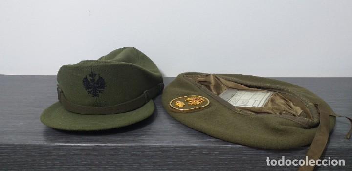 Militaria: UNIFORME - MILITAR- VINTAGE- EJERCITO ESPAÑOL- GORRA Y BOINA - Foto 27 - 224549052