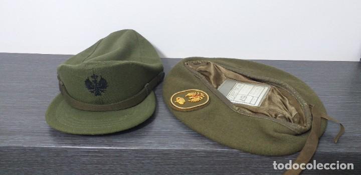 Militaria: UNIFORME - MILITAR- VINTAGE- EJERCITO ESPAÑOL- GORRA Y BOINA - Foto 30 - 224549052