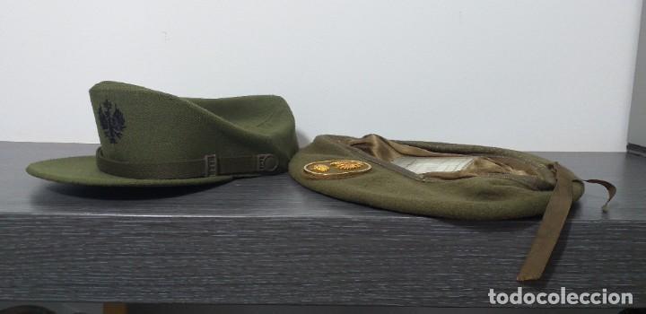 Militaria: UNIFORME - MILITAR- VINTAGE- EJERCITO ESPAÑOL- GORRA Y BOINA - Foto 33 - 224549052