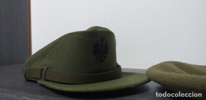 Militaria: UNIFORME - MILITAR- VINTAGE- EJERCITO ESPAÑOL- GORRA Y BOINA - Foto 39 - 224549052