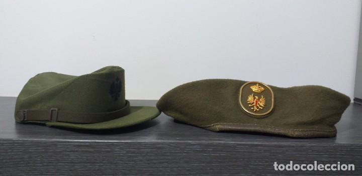 Militaria: UNIFORME - MILITAR- VINTAGE- EJERCITO ESPAÑOL- GORRA Y BOINA - Foto 41 - 224549052