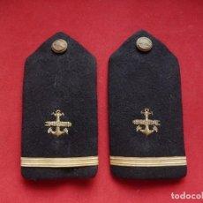 Militaria: ARMADA ESPAÑOLA. MARINA GUERRA. HOMBRERAS. SUBOFICIALES. SUBTENIENTE. TORPEDISTA. ÉPOCA JUAN CARLOS. Lote 245980435