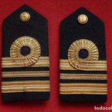 Militaria: ARMADA ESPAÑOLA. MARINA GUERRA. HOMBRERAS. JEFES. CAPITÁN DE CORBETA. ÉPOCA JUAN CARLOS I. Lote 245984555