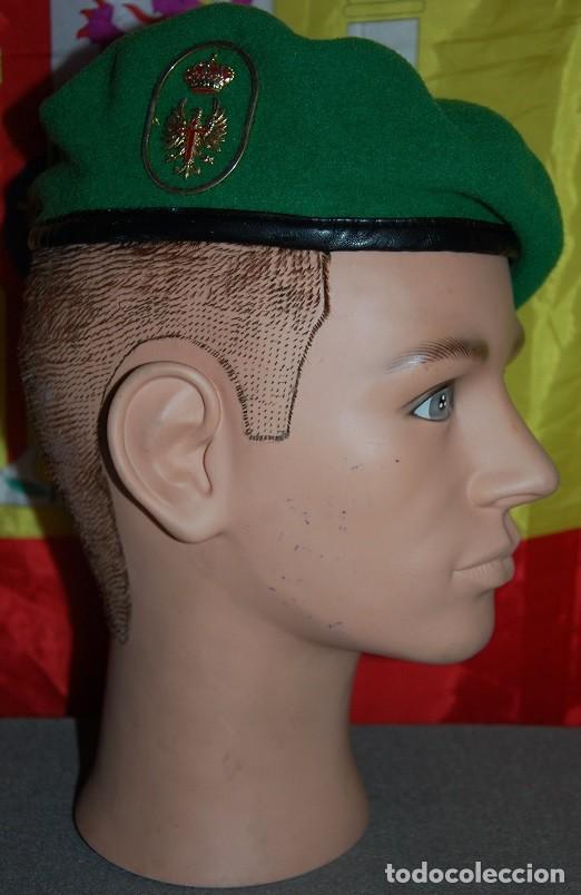 BOINA VERDE EJERCITO DE TIERRA EMMOE (ESCUELA MILITAR DE MONTAÑA Y OPERACIONES ESPECIALES) (Militar - Boinas y Gorras )