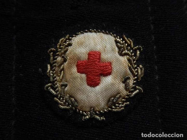 Militaria: Armada Española. Marina de Guerra. Hombrera. Sanitarios. Época de Franco. - Foto 3 - 246104185