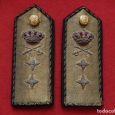 Militaria: ARMADA ESPAÑOLA. MARINA GUERRA. HOMBRERAS. OFICIALES GENERALES. VICEALMIRANTE. ÉPOCA ALFONSO XIII.. Lote 246223495