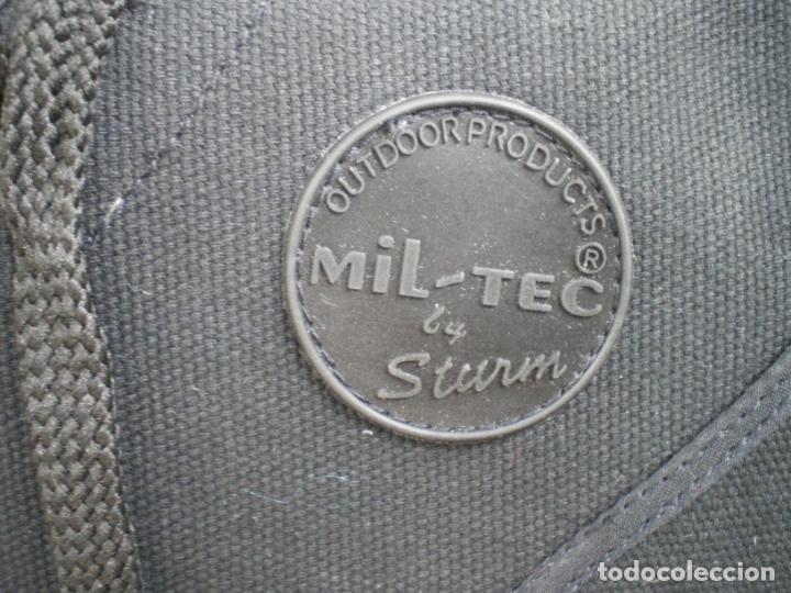 Militaria: BOTAS DE LONETA Y DOS HEBILLAS, MILTEC, T.46, NUEVAS - Foto 4 - 246358245