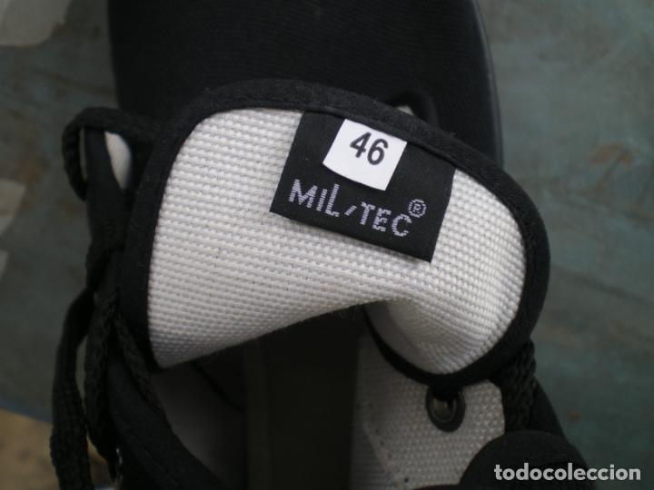 Militaria: BOTAS DE LONETA Y DOS HEBILLAS, MILTEC, T.46, NUEVAS - Foto 8 - 246358245