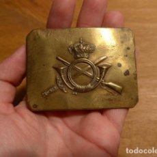 Militaria: ANTIGUA HEBILLA ALFONSINA DE INFANTERIA, ALFONSO XIII. ORIGINAL.. Lote 246775235