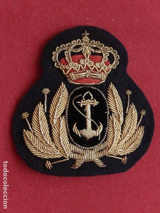 Militaria: Armada Española. Marina Guerra. Galleta para gorra. Jefes y Oficiales. Época de Juan Carlos I. - Foto 7 - 288522473