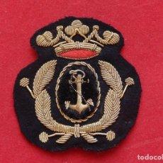 Militaria: ARMADA ESPAÑOLA. MARINA GUERRA. GALLETA PARA GORRA. SUBOFICIALES. ÉPOCA DE FRANCO.. Lote 246822790