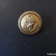 Militaria: BOTON ORIGINAL ALEMAN DE LA KRIGMARINE. MARCADO M 1940. III REICH. AÑOS 1939-45. Lote 246942315