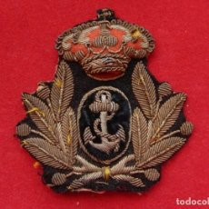 Militaria: ARMADA ESPAÑOLA. MARINA GUERRA. GALLETA GORRA. JEFES Y OFICIALES. CUERPO GENERAL. ÉPOCA ALFONSO XIII. Lote 246956055