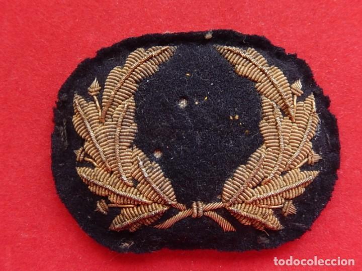 Militaria: Marina Mercante. Galleta para gorra. Época de Alfonso XIII. - Foto 8 - 247213395