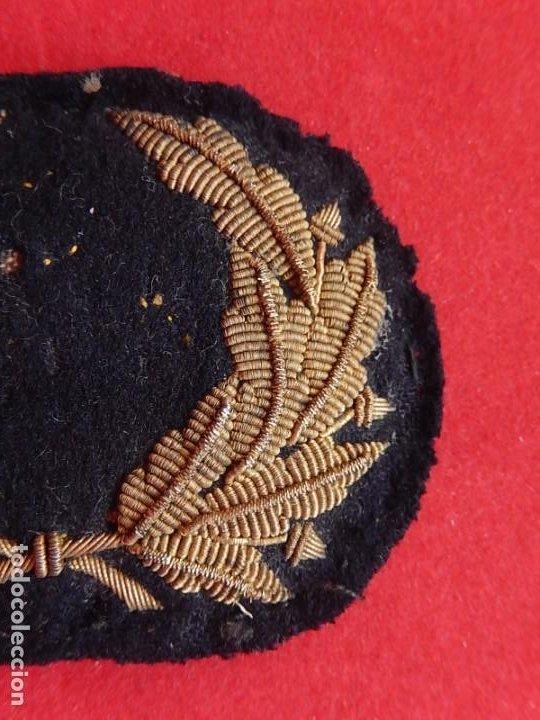 Militaria: Marina Mercante. Galleta para gorra. Época de Alfonso XIII. - Foto 2 - 247213395