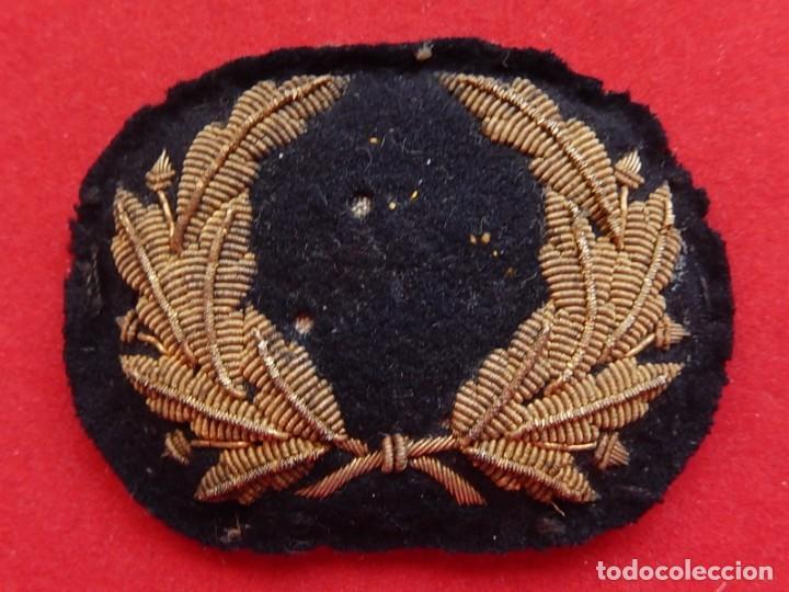 MARINA MERCANTE. GALLETA PARA GORRA. ÉPOCA DE ALFONSO XIII. (Militar - Otros relacionados con uniformes )
