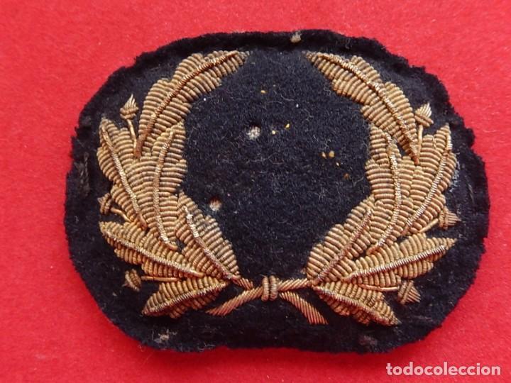 Militaria: Marina Mercante. Galleta para gorra. Época de Alfonso XIII. - Foto 7 - 247213395