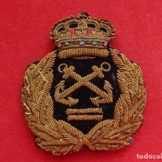 Militaria: MARINA DEPORTIVA. GALLETA PARA GORRA. PATRÓN DE ¿YATE?. ÉPOCA DE ALFONSO XIII.. Lote 247215360