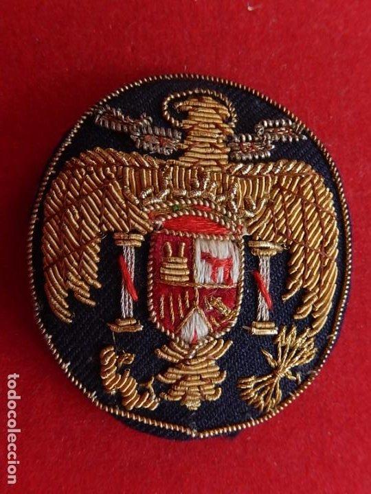 GALLETA PARA GORRA. ÉPOCA DE FRANCO. (Militar - Otros relacionados con uniformes )