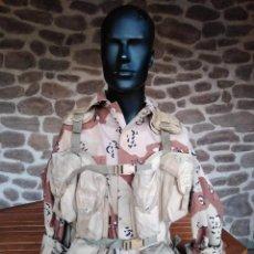 Militaria: MUY RARO CHALECO AMERICAN BODY ARMOR (ABA) TACTICAL LOAD BEARING (TLBV O LBV) PRIMERA GUERRA IRAK. Lote 247769990