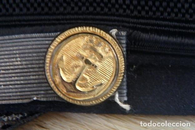 Militaria: (XJ-210340)GORRA DE OFICIAL DE LA COMPAÑÍA NAVIERA TRANSATLÁNTICA,años 30 / 40. - Foto 7 - 247782780
