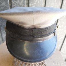 Militaria: GORRA DE PLATO DE INGENIEROS DE CAMINOS, CANALES Y PUERTOS, 54 CM DE PERÍMETRO INTERIOR. Lote 191435276