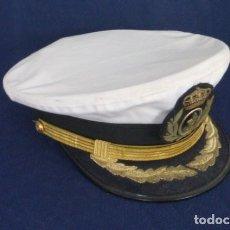 Militaria: GORRA REGLAMENTARIA, CAPITAN DE NAVIO..ARMADA ESPAÑOLA.. EPOCA JUAN CARLOS I... Lote 248588295