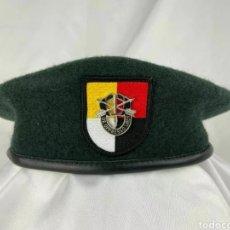 Militaria: BOINA VERDE OPERACIONES ESPECIALES US EEUU. Lote 248836375