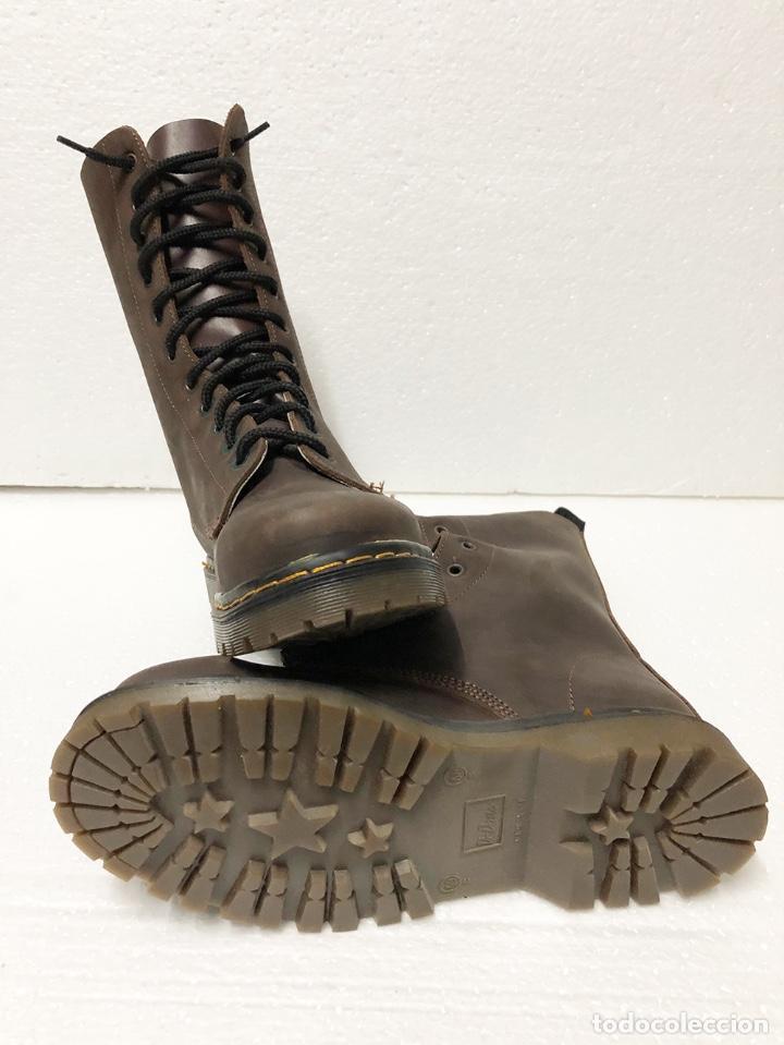 Militaria: BOTAS MOD. DC. MARTENS COLOR CUERO 11 AGUJEROS (VER DESCRICION) - Foto 3 - 249490765