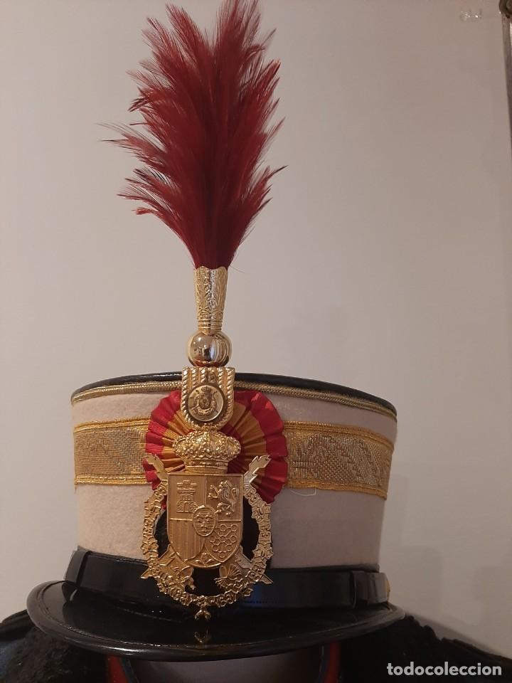 Militaria: Ros de Oficial de la Guardia Real. Talla 60. - Foto 2 - 249557235