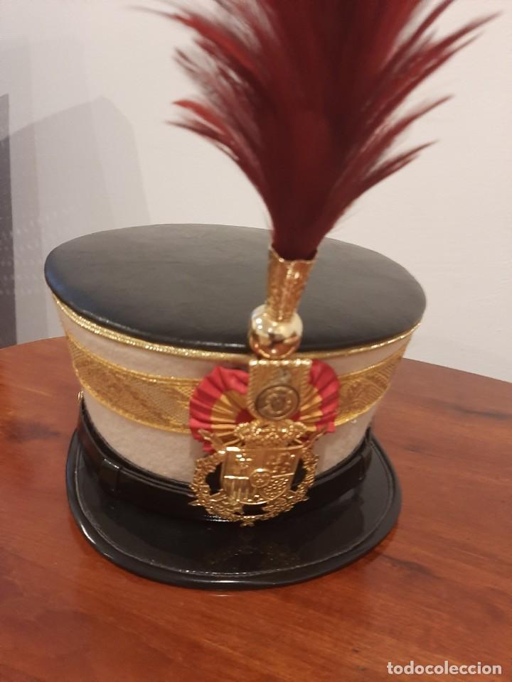 Militaria: Ros de Oficial de la Guardia Real. Talla 60. - Foto 4 - 249557235