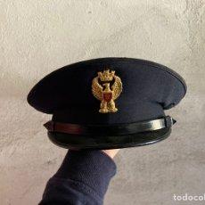 Militaria: GORRA DE LA POLICÍA NACIONAL DE ITALIA. Lote 251064790